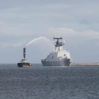 航行三月橫跨太平洋 海軍敦睦遠航支隊返抵國門
