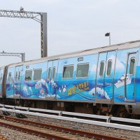 台灣風情景點躍上機捷 彩繪列車即日起上路