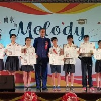 'White Wolf' presents Mayor's Award at Taipei elementary graduation ceremony, causes outrage