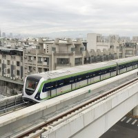 Taichung Metro Green Line in central Taiwan intensifies testing ahead of trial run at year-end