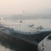 Official picture of new Chinese aircraft carrier spotted