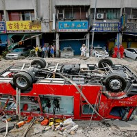 Taiwan's Kaohsiung City co-responsible for gas explosion, but not for compensation