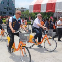 YouBike begins service in Miaoli City, Central Taiwan