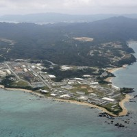 Okinawans take to the sea to protest construction of new US base