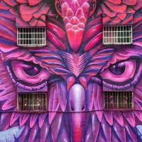 Photo of the Day: Mexican artist spray-paints amazing mural in Kaohsiung