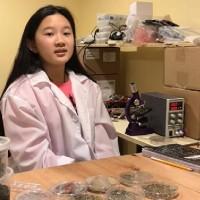 環保小天才  12歲華裔女孩發明塑膠微粒探測機器人