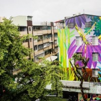 Photo of the Day: Chilean artist CEKIS brightens up drab building in Kaohsiung