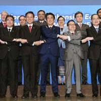 RCEP會議東京登場 日本促亞洲各國揚起自由貿易旗幟