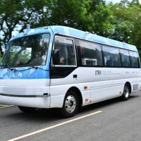 Industrial Tech. Research Institute unveils Taiwan's first driverless bus