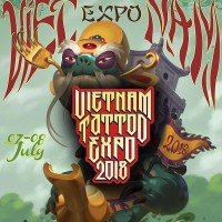 Two Taiwanese tattoo artists feature at Vietnam's first tattoo expo