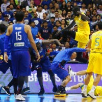 Thrilla north of Manila: Basketball brawl breaks out between Philippine and Australian teams