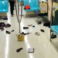 Rat on a train: Rodent causes stampede on Taipei MRT during rush hour