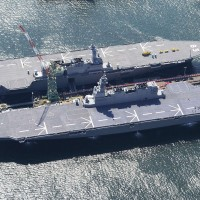 Japanese Navy helicopter carrier Kaga to head for Indian Ocean