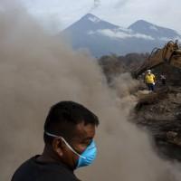 瓜地馬拉火山爆發 死亡人數上修至332人