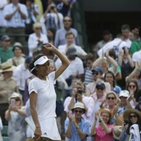 Taiwan's Hsieh Su-wei eliminates world no. 1 from Wimbledon