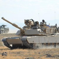 M1 Abrams坦克(圖/Wikicommons)