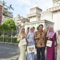 交通部邀馬來西亞女星代言 搶攻穆斯林遊客商機