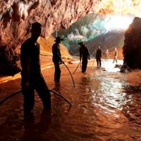 泰國洞穴救難持續 已救8人尚有5人待援