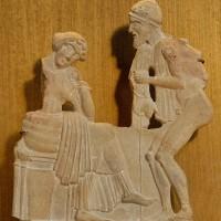 希臘考古挖掘 疑似最古老的《奧德賽》石板