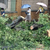 Fatal fall in New Taipei first reported death from Typhoon Maria in Taiwan