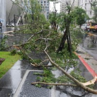 1 dead, 8 injured from Typhoon Maria in Taiwan