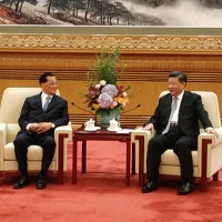 Former Taiwan Vice President meets Chinese leader Xi Jinping