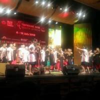 優美聲音傳遍全球 寶來國中合唱團南非摘金
