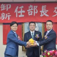 一人上任內政部長 徐國勇:對每一位同仁有信心