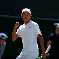 Taiwanese teen Tsengwins boy's singles title at Wimbledon