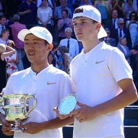 Taiwan's Tseng wins Wimbledon boys' title after win at Roland Garros