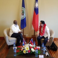 Taiwan Foreign Minister receives Order of Distinction from Belize