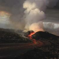 夏威夷火山頻頻噴發 形成新島嶼