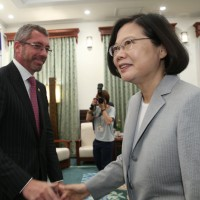 Taiwan President urges countries to stand up against China's threats to freedom and democracy