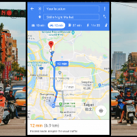 Google Maps in Taiwan sets up Motorcycle Mode for Android