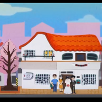 Taiwanese students create animated short about the life of a house in Taiwan