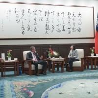 Taiwan President receives EU parliamentarians, pledges to expand economic ties