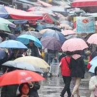 Heavy rain warning issued for southern Taiwan