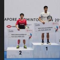 新加坡羽球公開賽「台灣內戰」 周天成直落二擊敗許仁豪奪冠