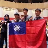 國際生物奧林匹亞競賽 台灣獲4金與中國並列第一