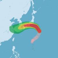 Typhoon Jongdari causes flight disruptions