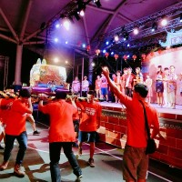 Taiwanese musical warms up one of Taiwan's most celebrated religious festivals