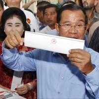 柬埔寨選舉結果出爐 執政黨:我們獨霸所有席次!
