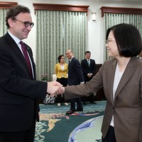 Taiwan will not yield to China's pressure: president