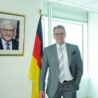 German Institute's new director takes up post in Taipei