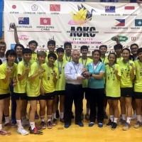 Team Taiwan defeats China defendingtitle as Asia's reigning Korfball Champions