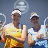 詹詠然搭檔捷克好手 聖荷西女網雙打決賽奪冠