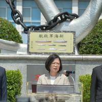 Taiwan's indigenous submarines to bring in Navy's new age: Tsai