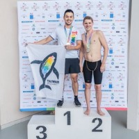 Taiwanese athlete wins gold medal in swimming event at Gay Games