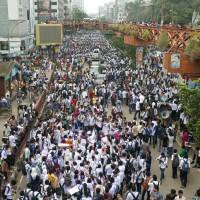 用路安全引爆流血示威 孟加拉擬對交通事故祭出死刑
