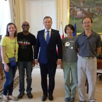 Meet the Taiwanese tourist who had tea with the Polish President